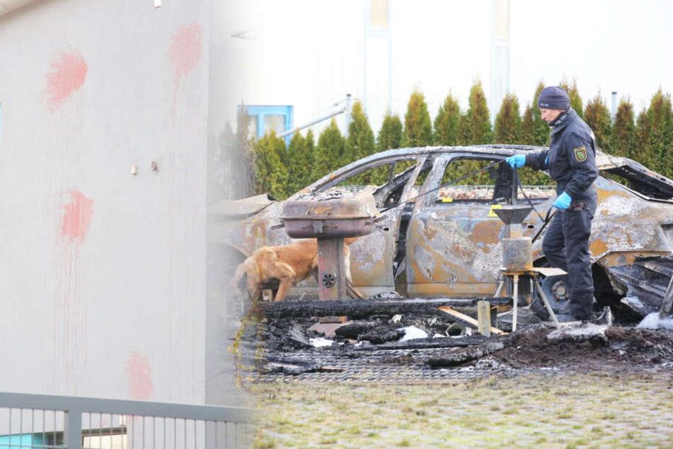 Dresden: Auto von AfD-Politiker abgefackelt! War es ein Anschlag?