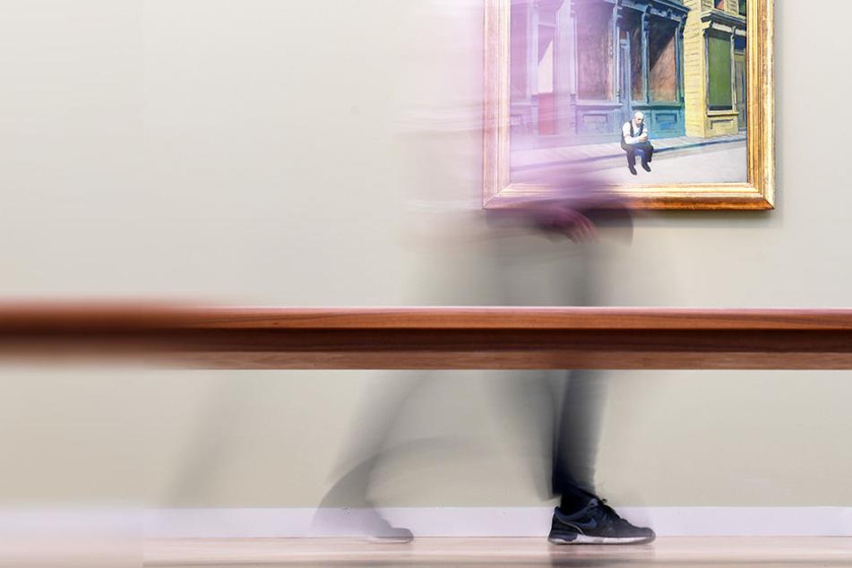 Ab 2018 können junge Künstler ihre Werke in Leipzig kostenlos ausstellen (Symbolfoto).