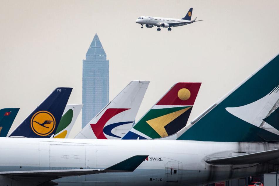 Der Flughafen Frankfurt (Archivbild) ist eine wichtige Drehscheibe für die internationale Luftfahrt.
