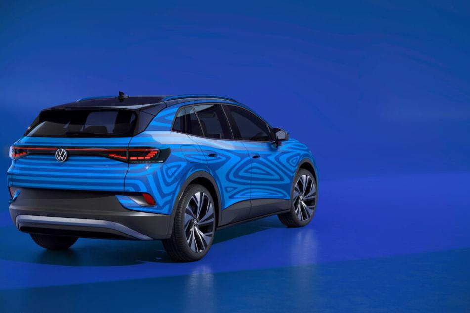 Im Herbst soll Verkaufsstart sein für den E-Tiguan von VW, den ID.4.