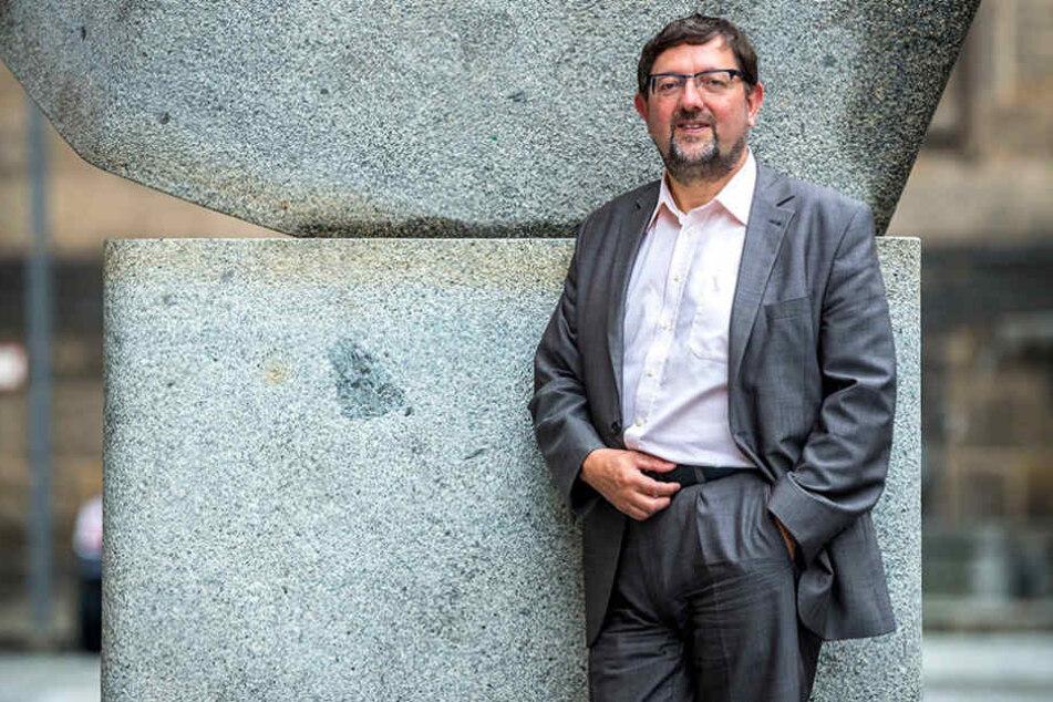 Andreas Lämmel (57, CDU) hat für das Verhalten seines Ex-Kontrahenten  kein Verständnis.