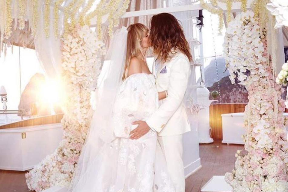 Endlich: Heidi Kaulitz veröffentlicht erstes Foto ihrer Hochzeit