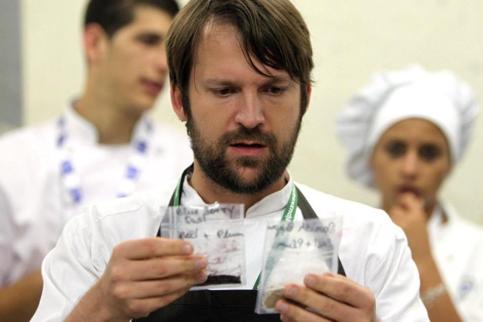 René Redzepi, Betreiber und Chefkoch des berühmten dänischen Restaurants Noma.