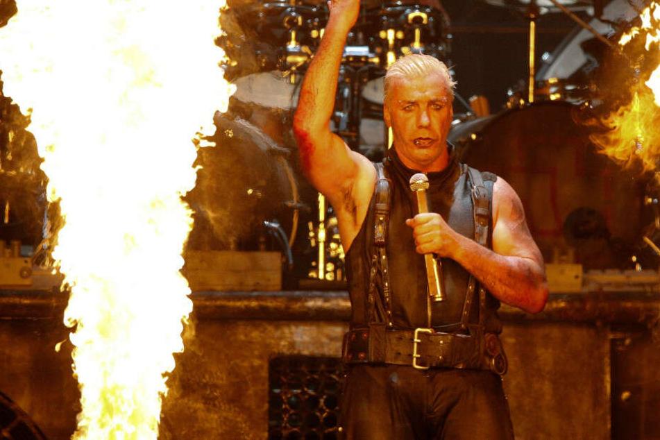 Rammstein-Frontsänger Till Lindemann beim Wacken Open-Air-Festival.