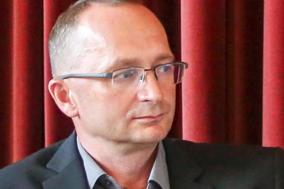 Sven Eppinger ist Vize der Werteunion in Sachsen. Er erklärt, seine Frau habe an die AfD gespendet, um die damalige Partei-Chefin Frauke Petry zu unterstützen.