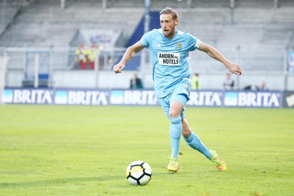 In der Partie gegen Wiesbaden erzielte Björn Kluft seinen zweiten Treffer für den CFC.