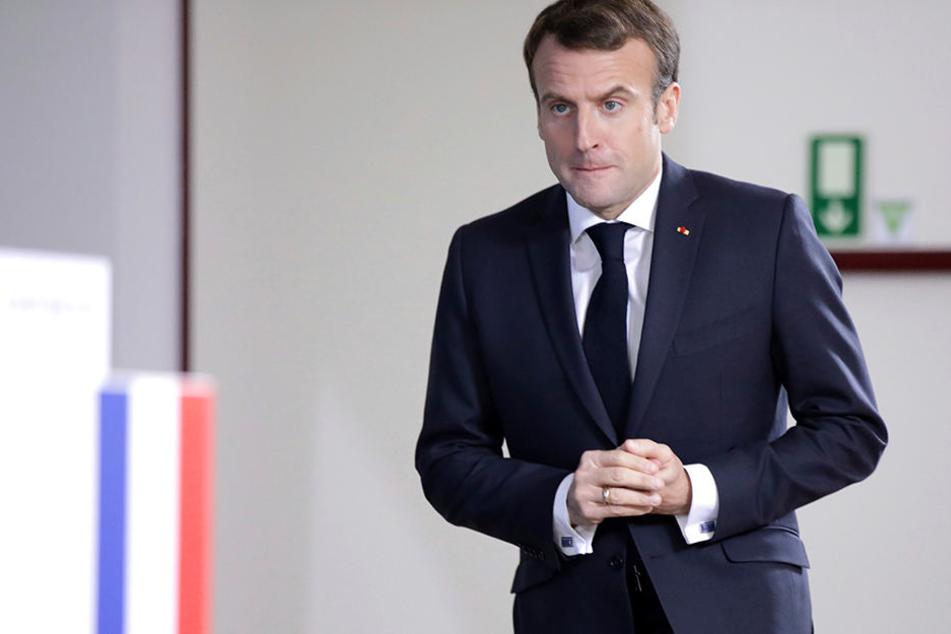 Emmanuel Macron, Frankreichs Präsident, will endlich sein Schweigen brechen und zu den Franzosen sprechen.
