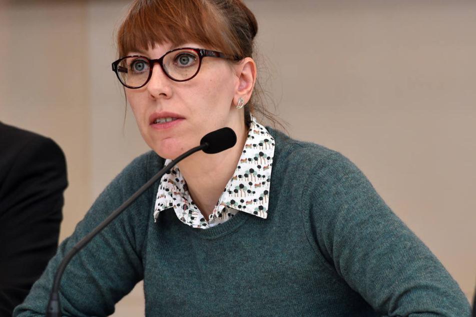 Katja Meier (37, Grüne) sieht den Verdacht nicht ausgeräumt, dass sich  Gericht und Staatsanwaltschaft von den Drohungen haben beeinflussen lassen.