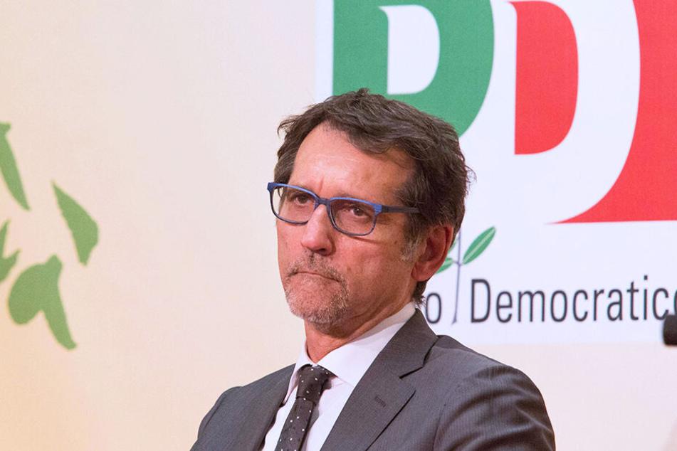 Dieser Blick spricht Bände! Bürgermeister Virginio Merola (64) will Spaghetti Bolognese und den Verweis auf die Herkunft nicht mehr sehen.