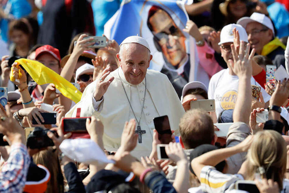 Oberhaupt der römisch-katholischen Kirche: Papst Franziskus