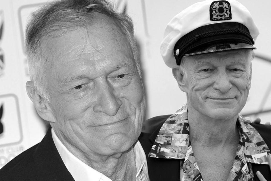 Der Playboy-Macher, Hugh Hefner, ist im Alter von 91 Jahren gestorben. (Foto: DPA)