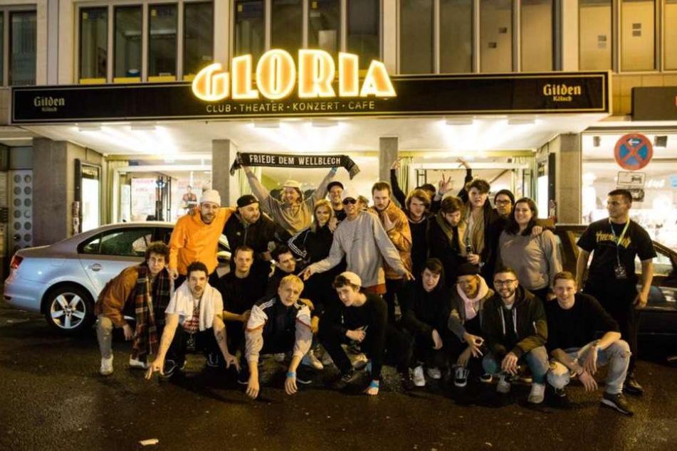 Am Donnerstag gönnte man sich eine Auszeit beim Trettmann-Gig im Gloria-Theater Köln.