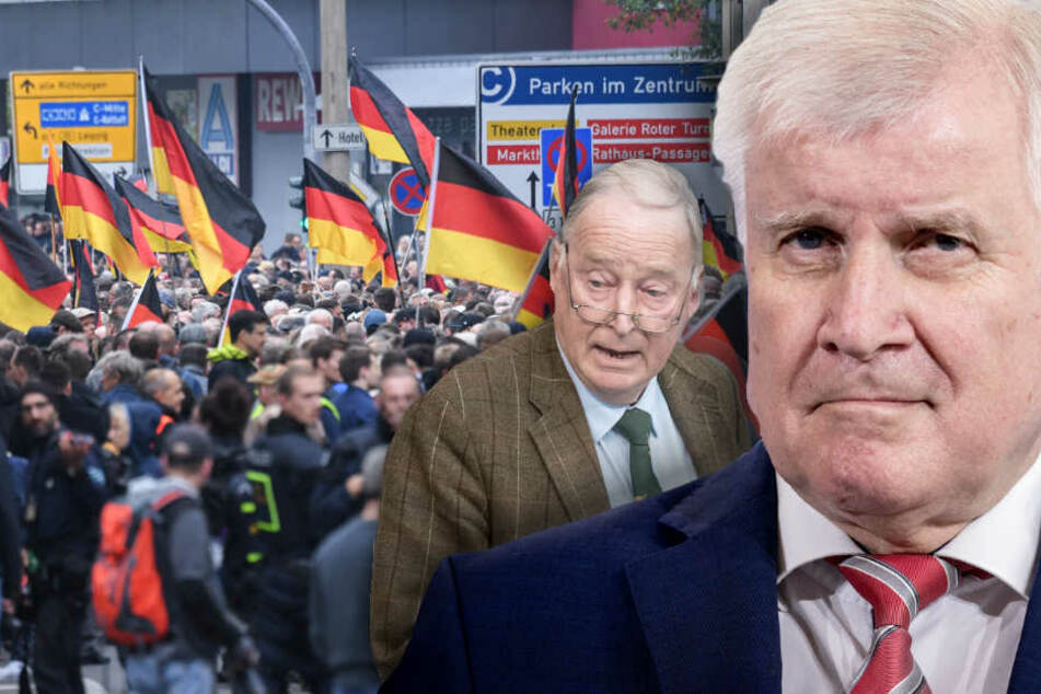 """Chemnitz, Rechtsradikale und AfD: Seehofer duldet """"null Toleranz"""""""