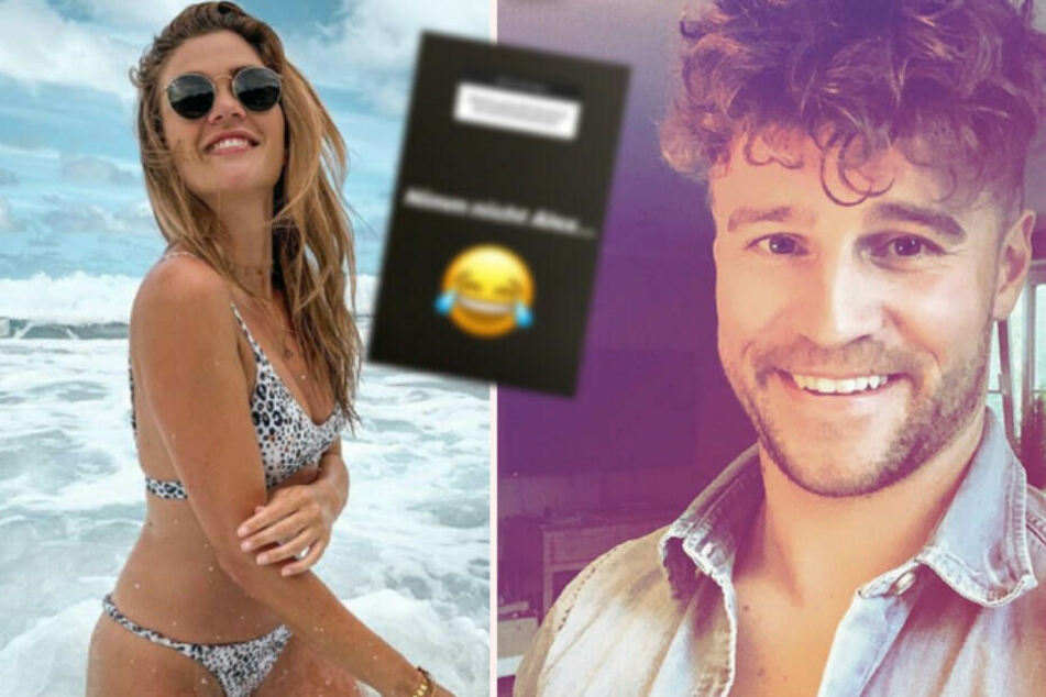 Wegen der Bachelorette: Schießt Nadine Klein hier gegen ihren Ex?