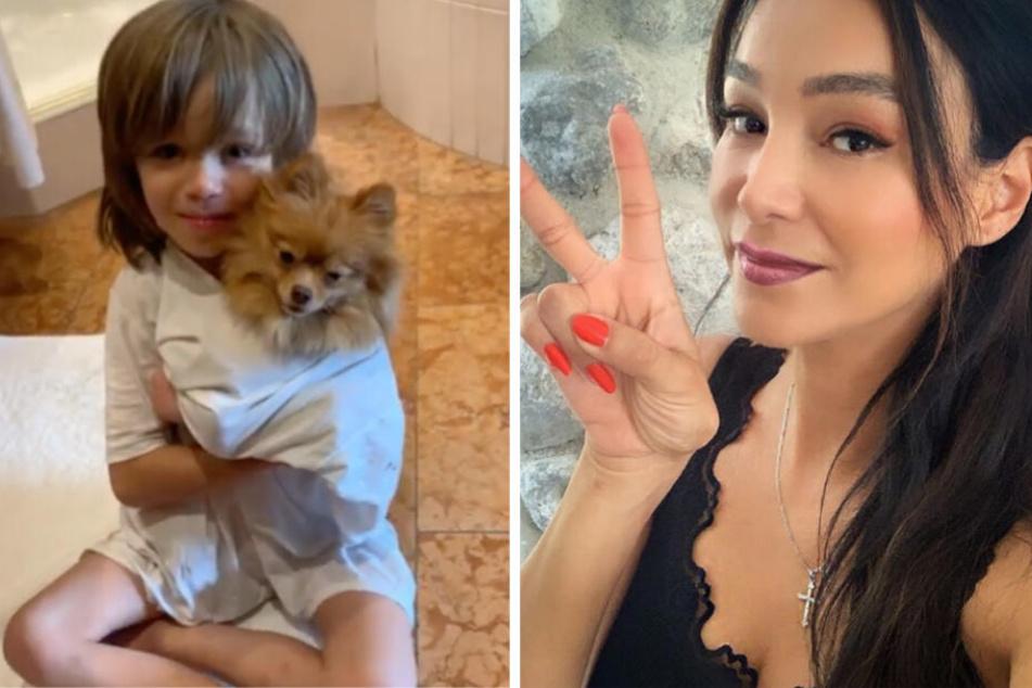 """Veronas Video vom kleinen Rocco löst bei Fans """"Knuddel-Alarm"""" aus"""