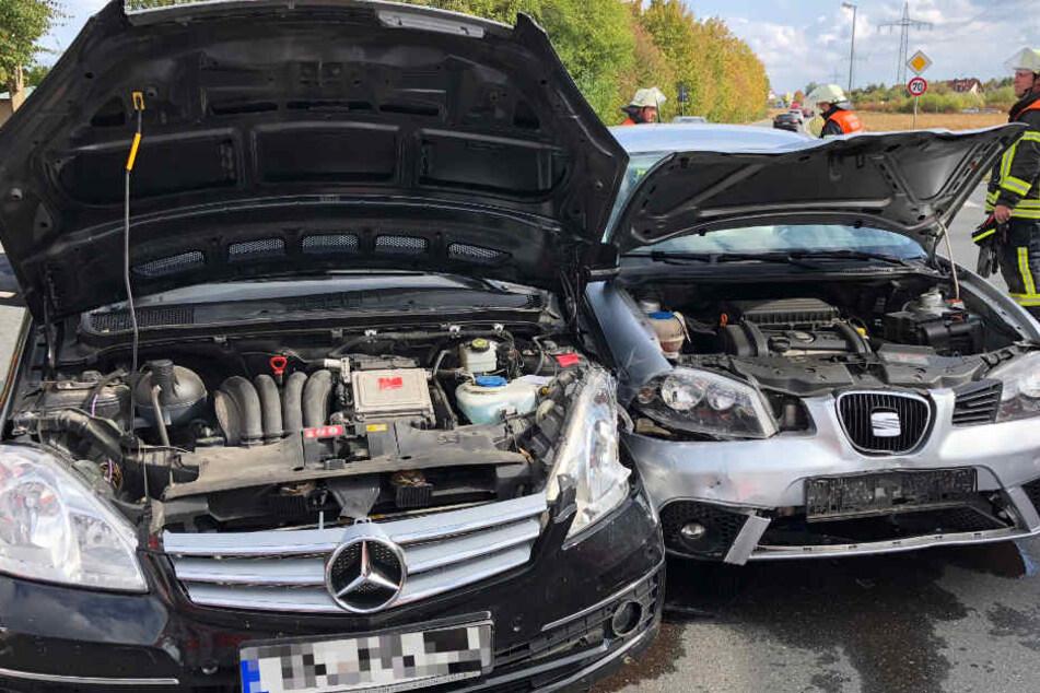 Auf der Umgehungsstraße bei Hirschaid in Bayern hat es einen Unfall gegeben.