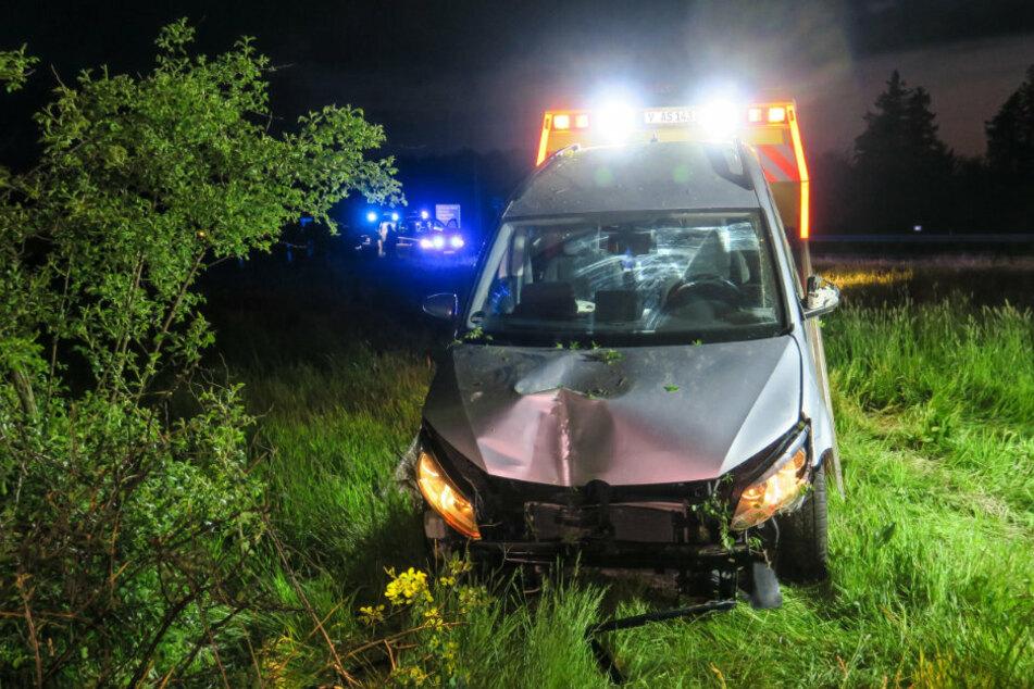 Bei dem Unfall entstand ein Schaden von 13.000 Euro.