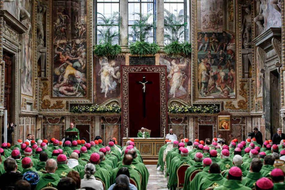 Februar 2019: Messe zum Abschluss des Gipfeltreffens der katholischen Kirche zum Thema Missbrauch.