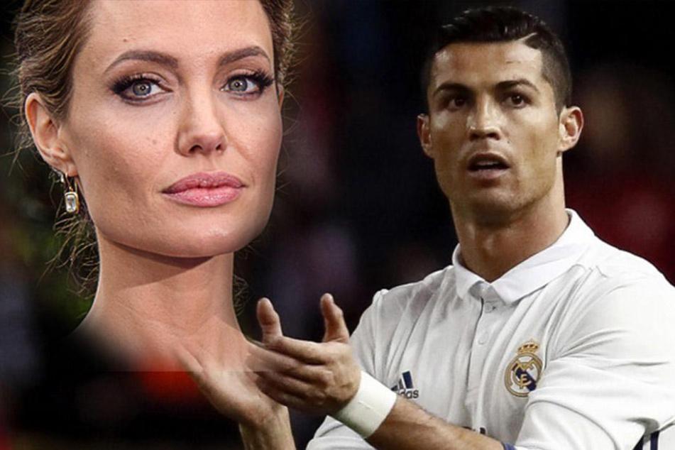 TV-Hammer: Spielen Ronaldo und Jolie bald in einer Serie mit?
