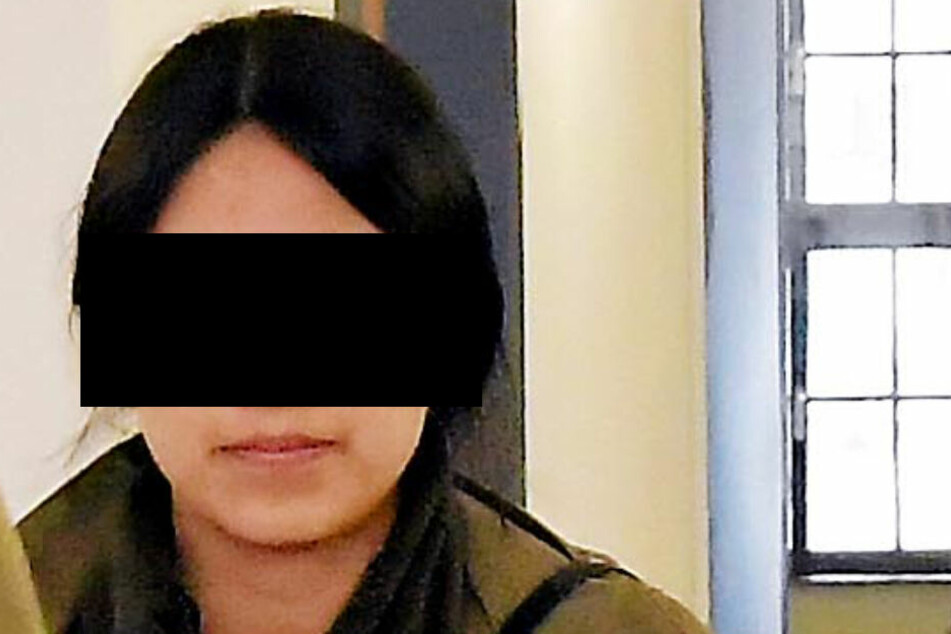 Gloria Baronin von G. (25) musste sich Hartz IV-Betrugs vor dem Amtsgericht Dippoldiswalde verantworten.