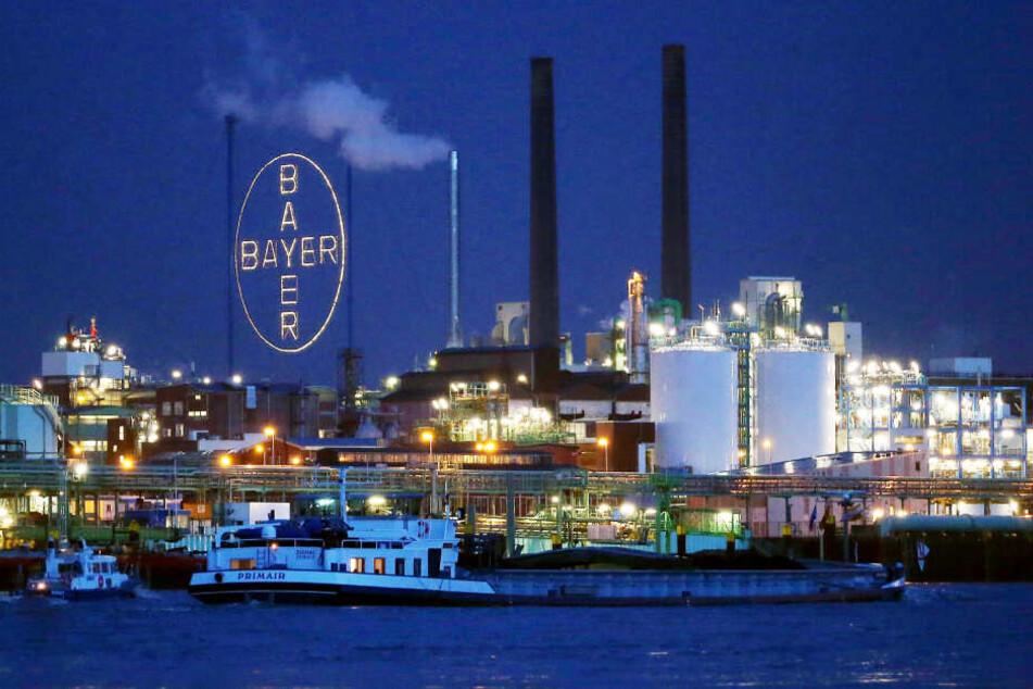 Das Bayer-Werk in Leverkusen.