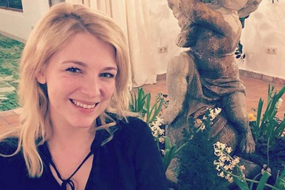 """Iris Mareike Steen (26) spielt die Lilly Seefeld in """"Gute Zeiten, schlechte Zeiten""""."""