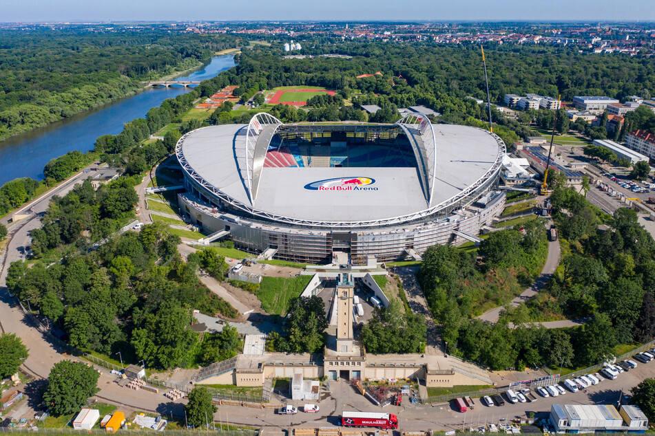 Die Red Bull Arena in Leipzig soll einen neuen Hauptzugang erhalten.