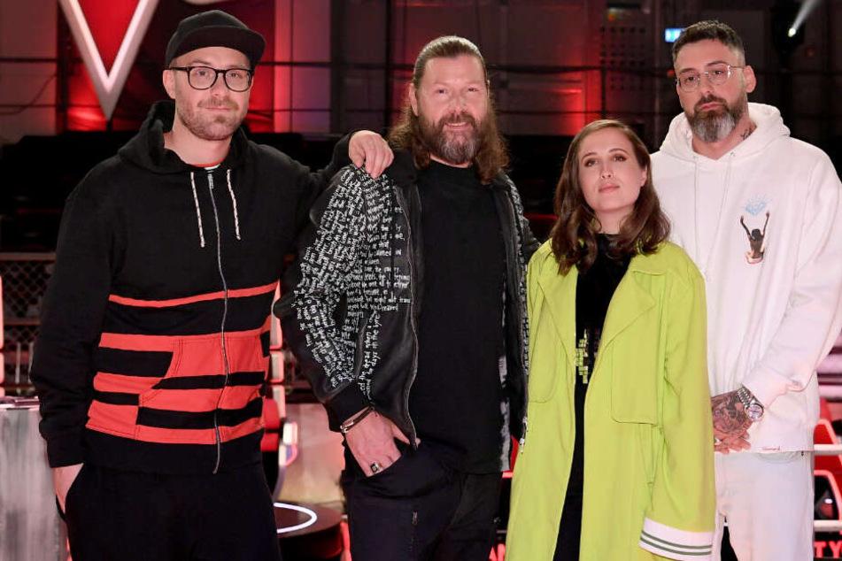 Mark Forster, Rea Garvey, Alice Merton und Sido sind die Coaches der neuen The Voice of Germany-Staffel.