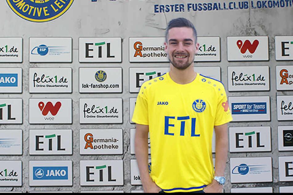 Leon Heynke (19) steht ab der kommenden Saison für die Probstheidaer auf dem Platz.
