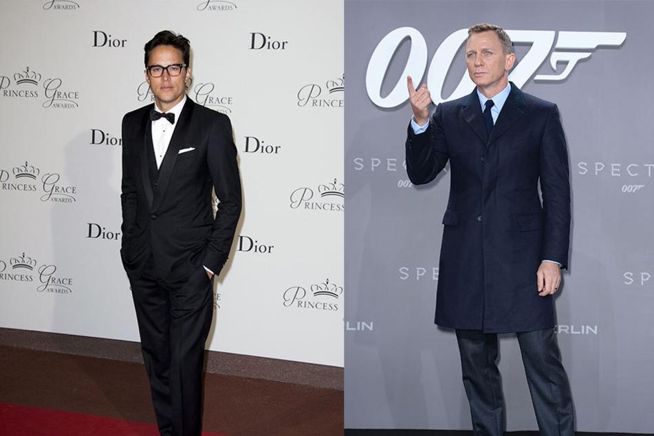 """Für Daniel Craig (r., 50) ist nach seinem fünften Auftritt als Geheimagent Schluss mit Bond. Cary Fukunaga (l., 41) hat die erfolgreiche Krimi-Reihe """"True Detective"""" geschaffen. Jetzt übernimmt er die Bond-Regie."""