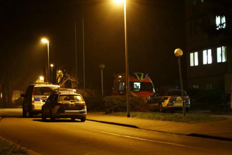 Am späten Freitagabend rückte die Polizei nach Beucha aus.