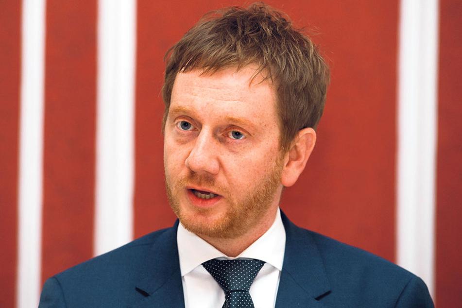 CDU-Generalsekretär Michael Kretschmer (42).