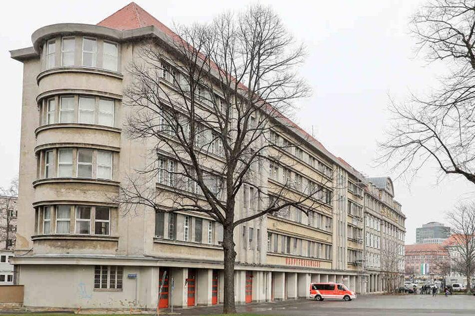 Leipzigs historische Hauptfeuerwache wird für rund 19 Millionen Euro komplett saniert.