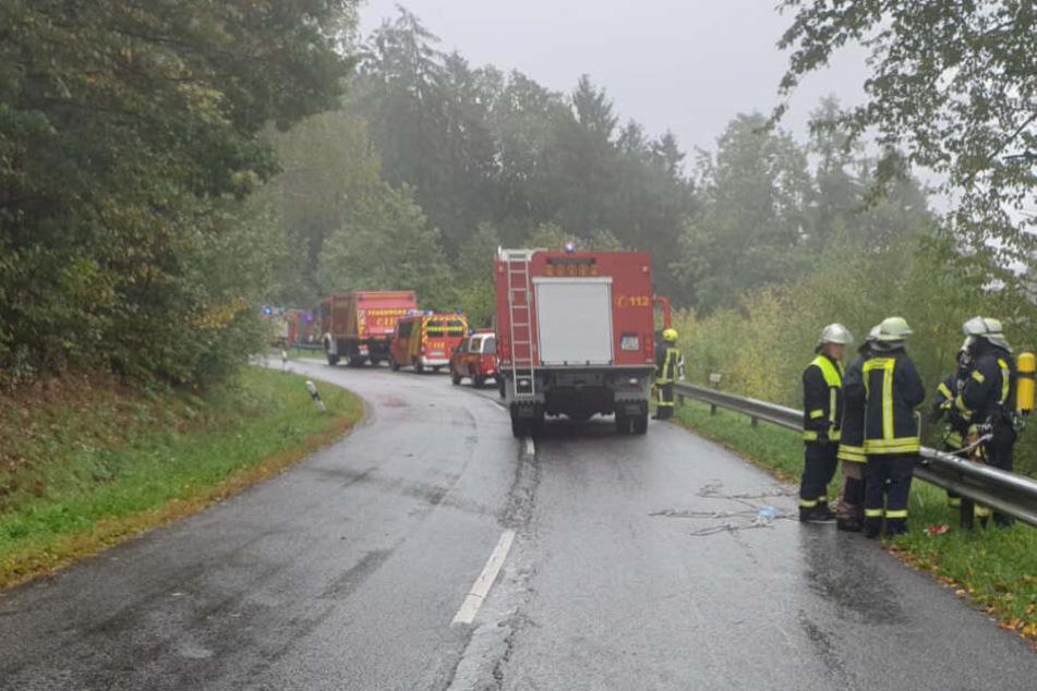 US-Kampfjet stürzt über Waldgebiet bei Trier ab