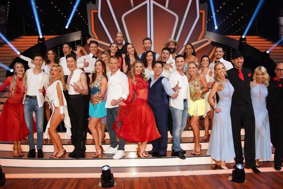 """Im Finale kommt es zum Wiedersehen aller Kandidaten der diesjährigen Staffel von """"Let's Dance""""."""