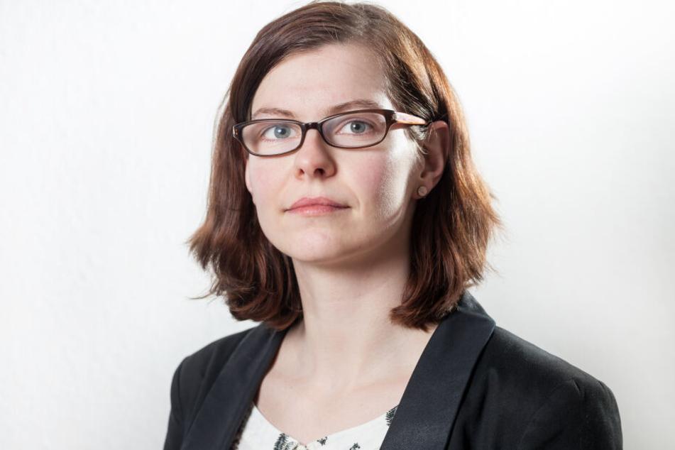 Sabine Pester (34) will, dass mehr Chemnitzer Schulen interaktive Tafeln und Tablets erhalten.