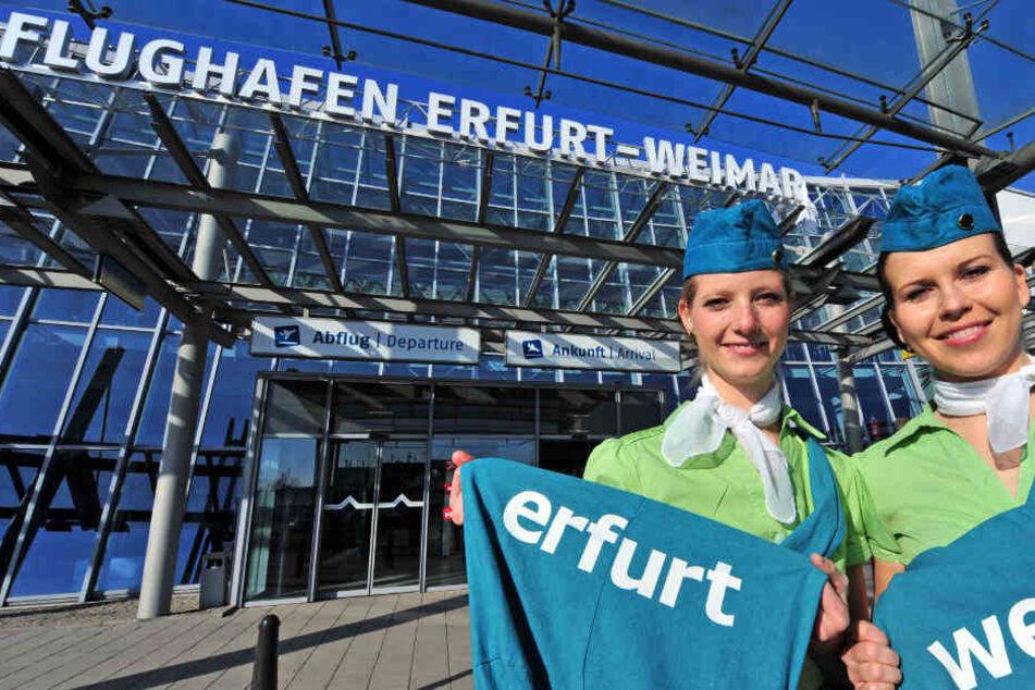 Rund 77.500 Menschen flogen von Erfurt nach Antalya.