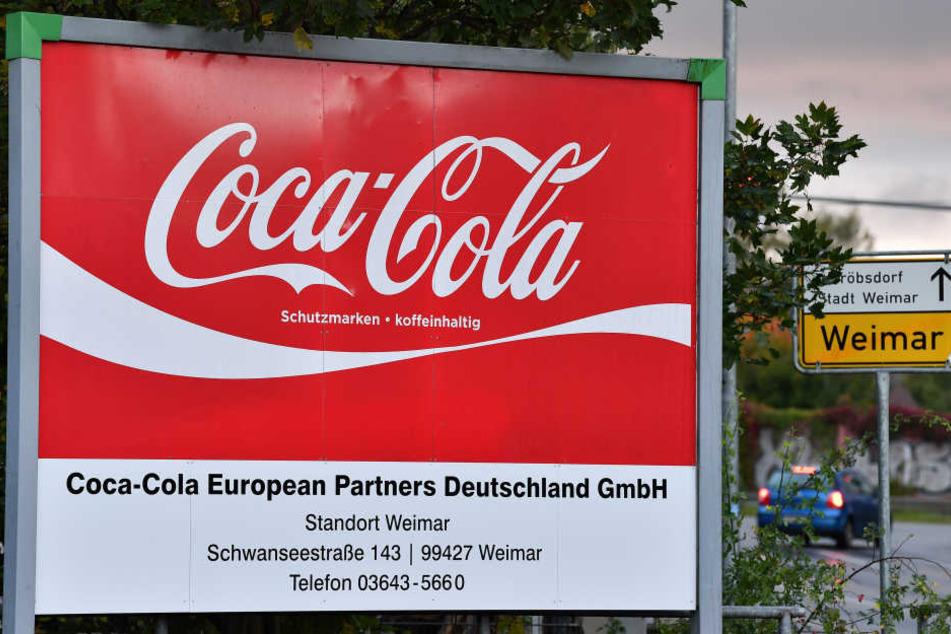 Die Zeiten der Produktion von Coca Cola in Weimar sind ab März 2018 wohl vorbei.