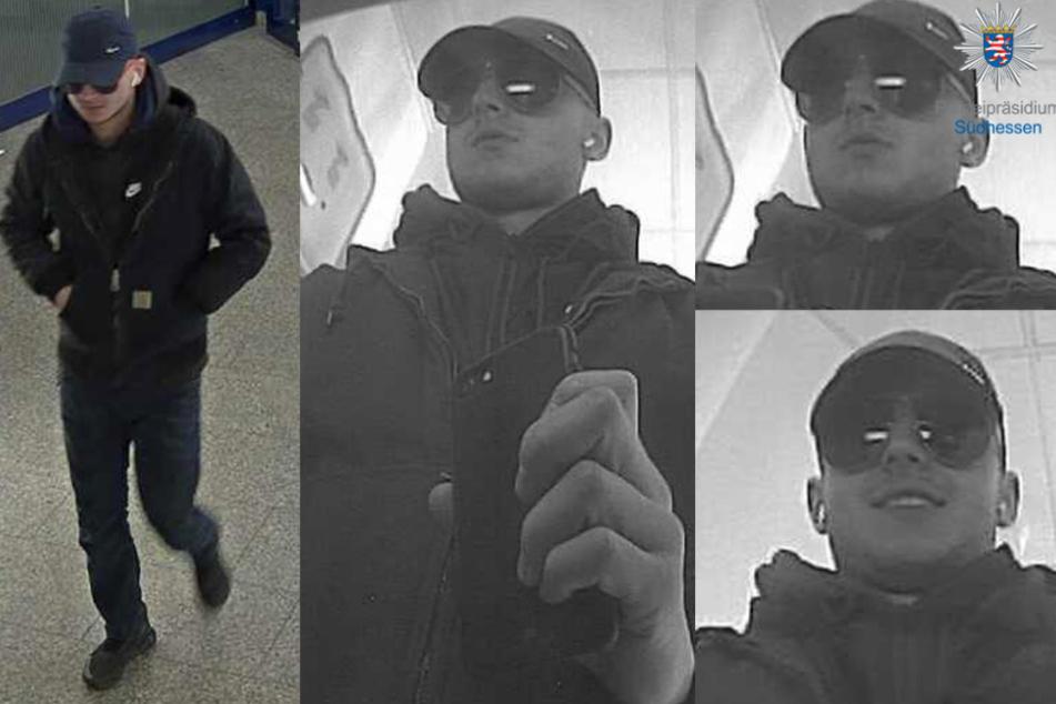 Die Überwachungskamera in der Bankfiliale nahm den Mann auf.