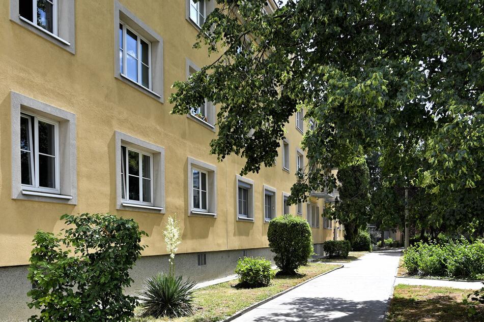 Die Wohnhausanlage, in der die zwei Verdächtigen das 13-jährige Mädchen getötet haben sollen.