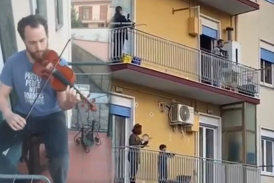 Es wird musiziert was das Zeug hält, gegen die Langeweile.