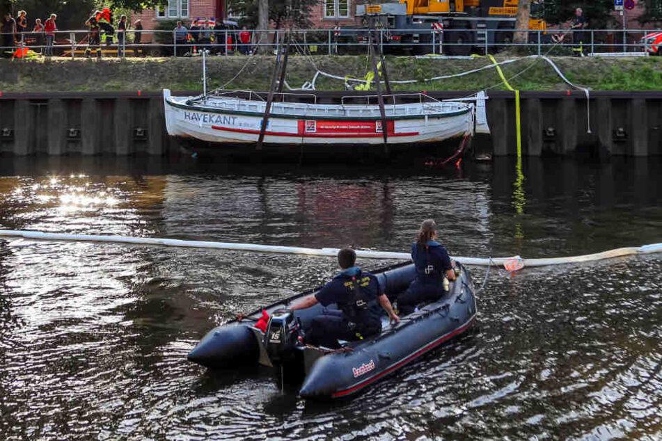 28 Menschen befanden sich an Bord, als das Ausflugsboot sank.