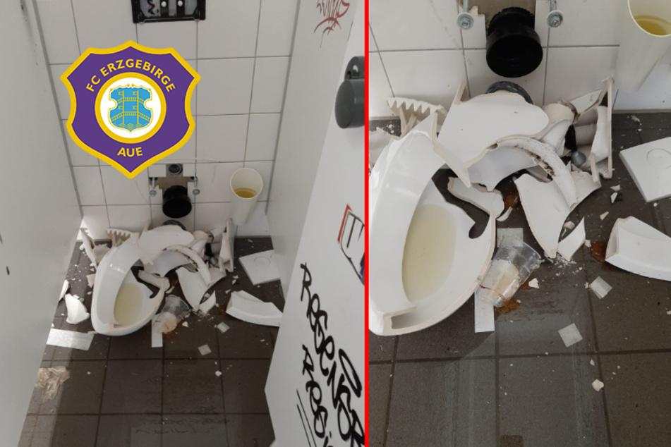 Nach Toiletten-Randale in Aue: HSV sagt Entschuldigung