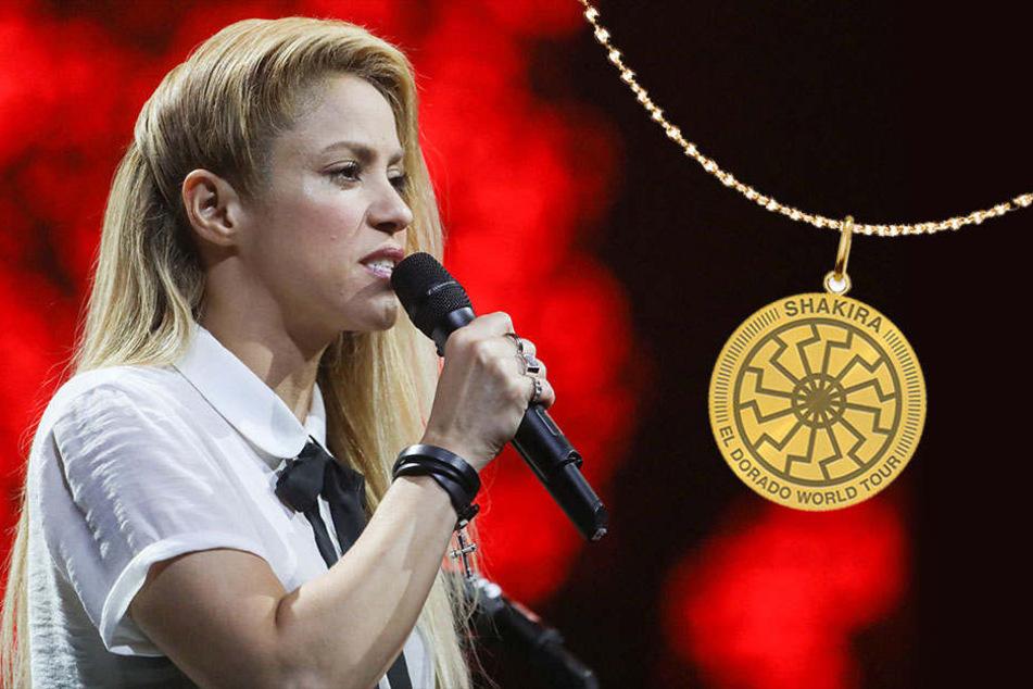 Fans schockiert: Trägt Shakira hier ein Nazi-Symbol?