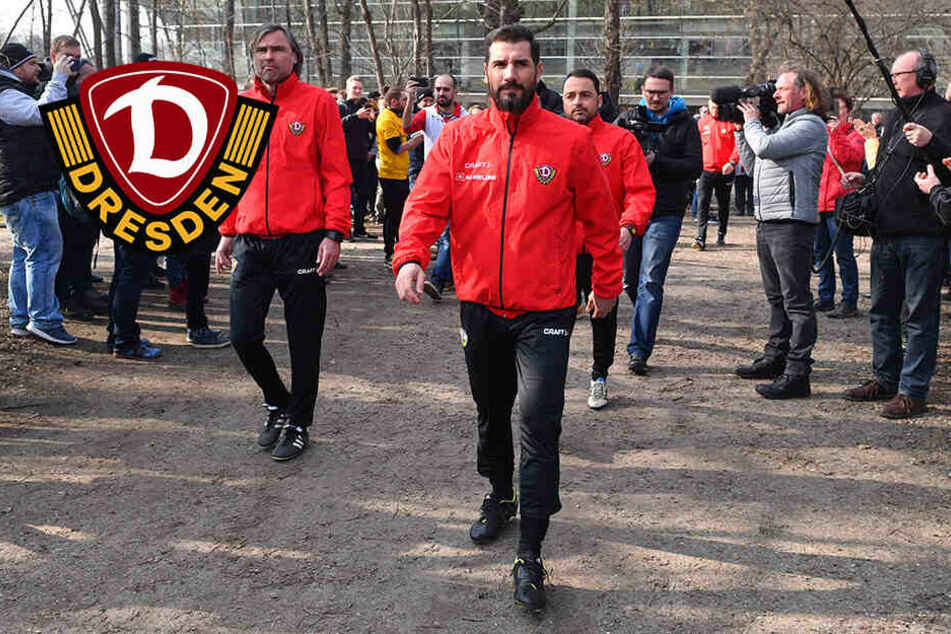 Dynamo Dresden: So lief der erste Tag unter Fiel!