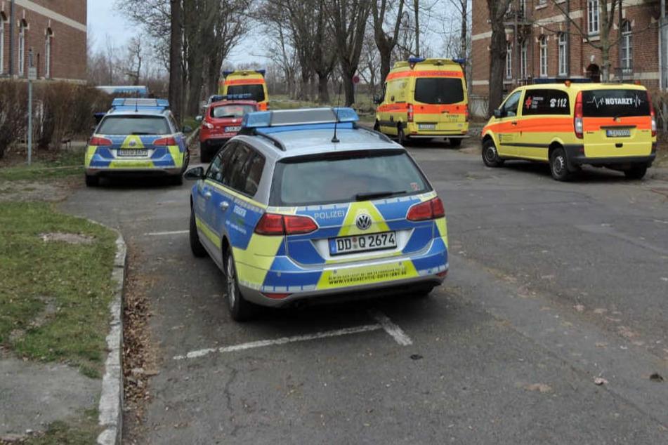 Wohnungsbrand in Sachsen: Kind und Erwachsene im Krankenhaus