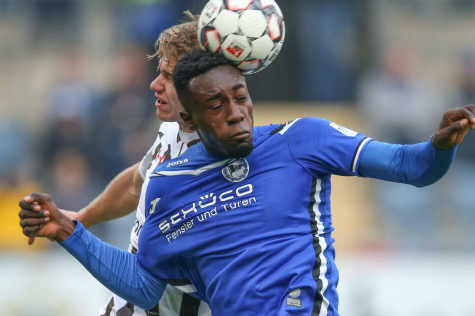 Prince Osei Owusu wird den TSV 1860 München ab sofort verstärken. (Archivbild)