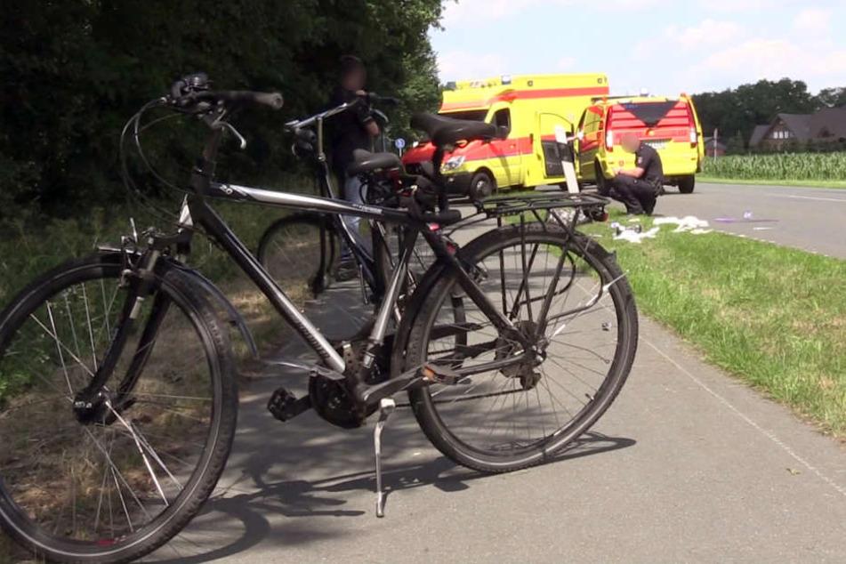 Rettungskräfte konnten sich erst knapp acht Stunden nach dem Unfall um den schwerverletzten Mann kümmern. (Symbolbild)