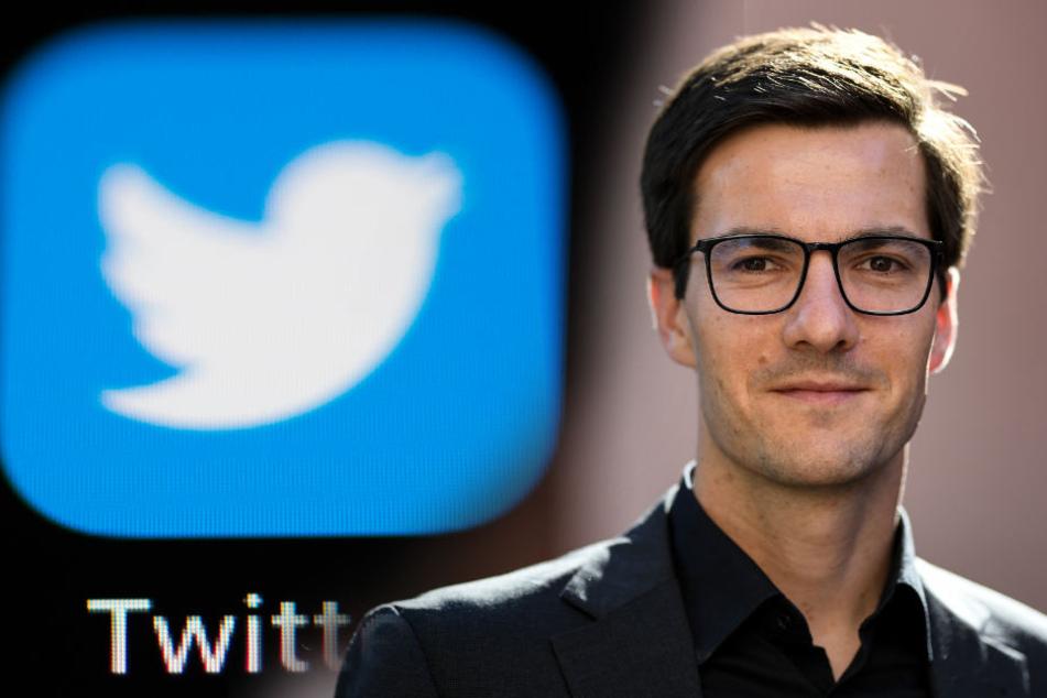 Zurück auf Twitter: Martin Horn. (Fotomontage)