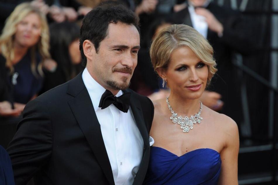 Demian Bichir und seine Frau Stefanie Sherk bei den Oscars im Jahr 2012.